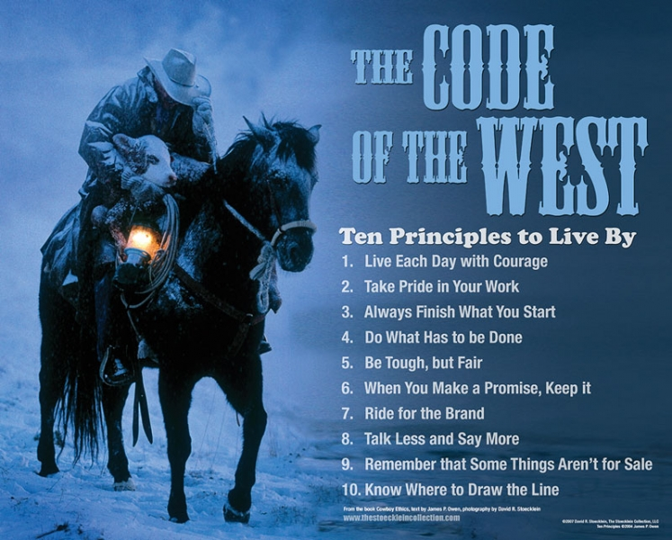 The Code of the West | The Golden Group Real Estate Advisors